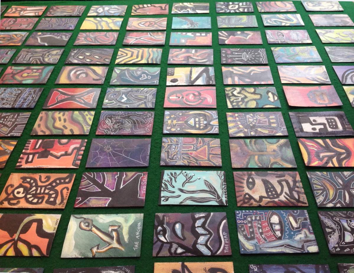 tarot deck grid